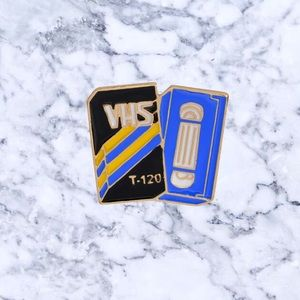 Jewelry - VHS Tape Enamel Pin